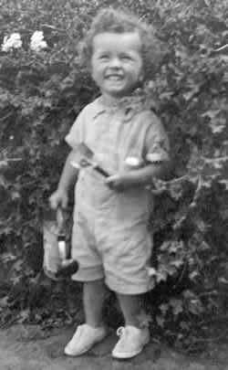 Aged three in St Helena